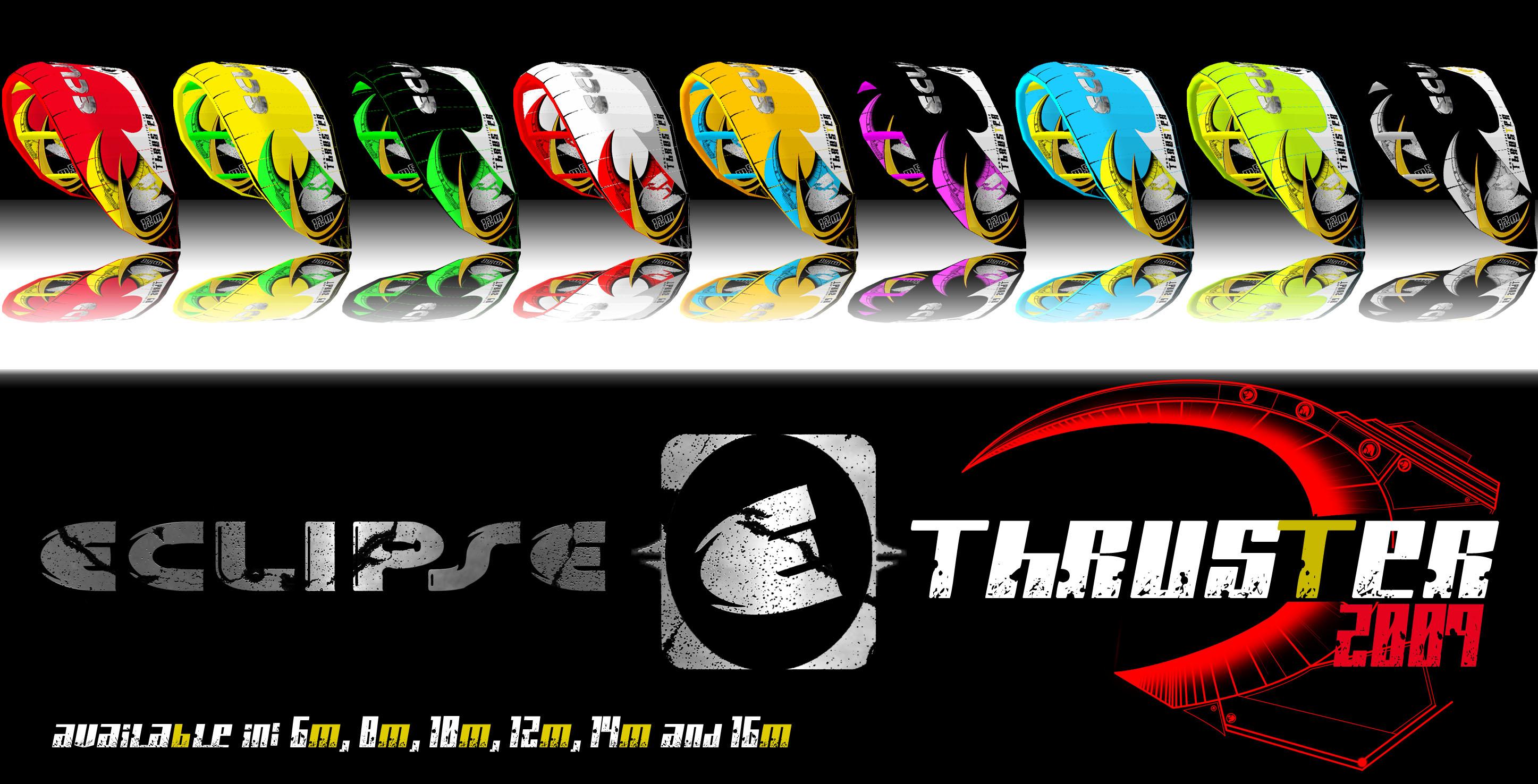 Eclipse thruster 2009 line up - work in progress