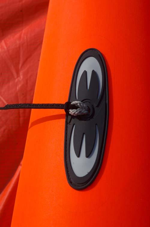 Bridle load spreader detail