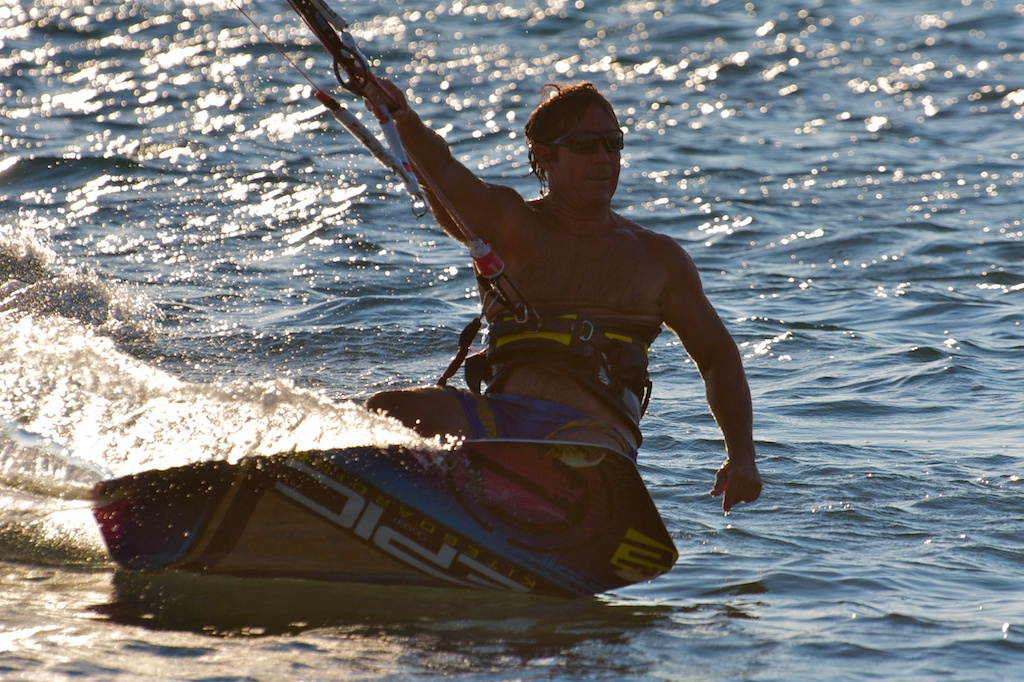Kiter demoing the RENEGADE 13 with Oxygen board.jpg