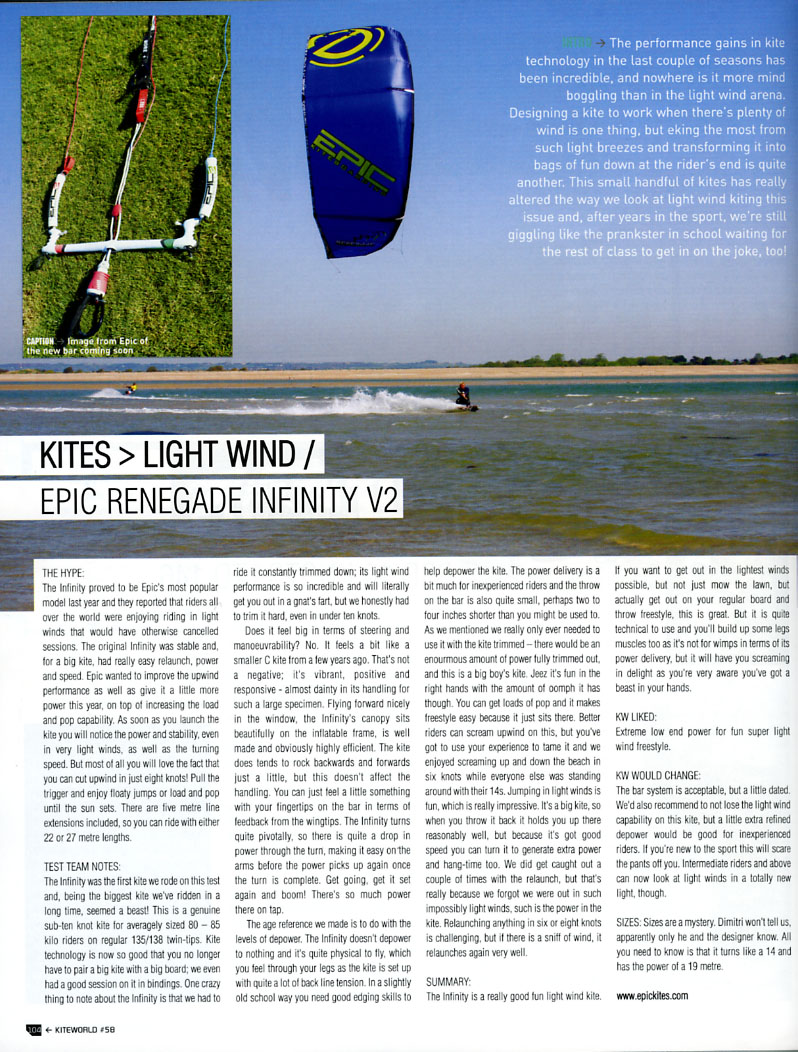 KW mag review of the INFINITY V2.jpg