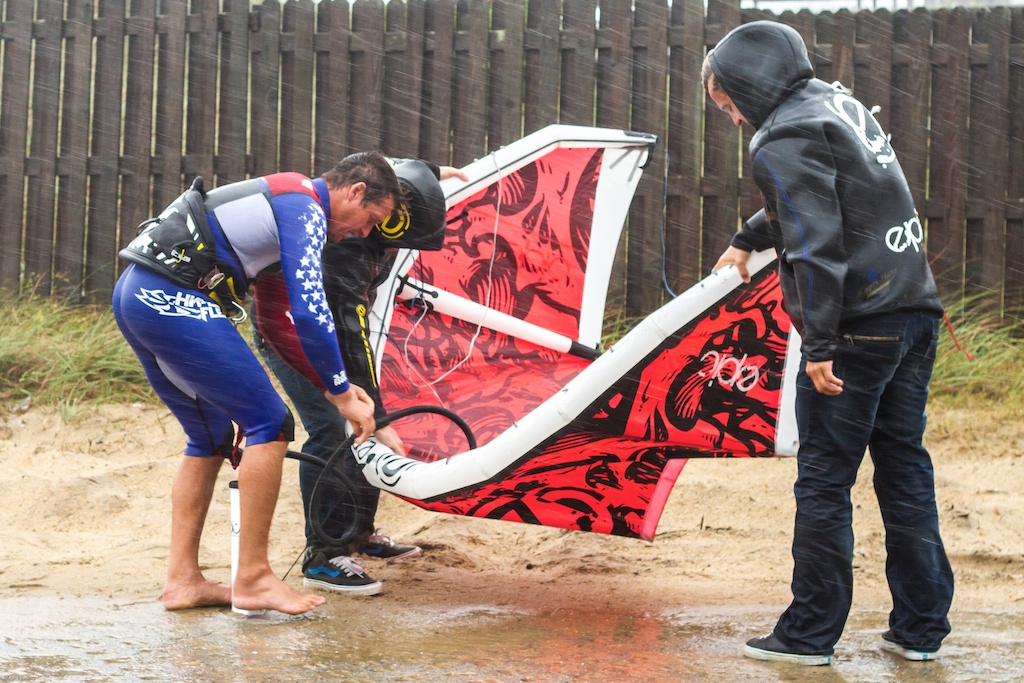 How many people it takes to pump a kite in a Hurricane.jpg