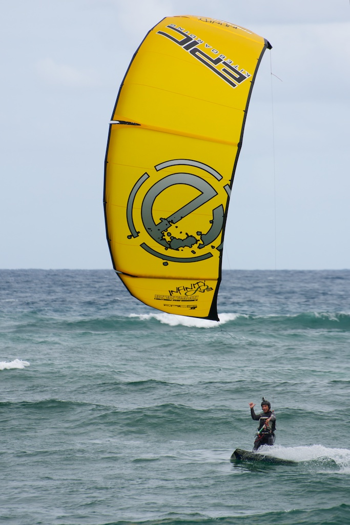 Rick Iossis demoing the Infinity v3 in 11 to 14 knots (too much wind but still good).jpg