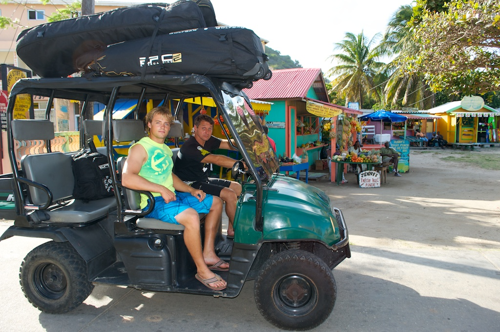 Rocky Chatwel and Dimitri on their way to Jeremie Tronet kite beach.jpg