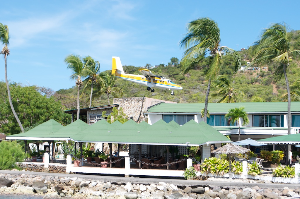 This is the plane that comes to Union Island.jpg