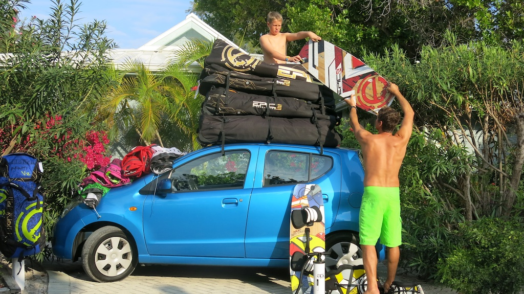 Getting ready for day 2.  Need a bigger car.jpg