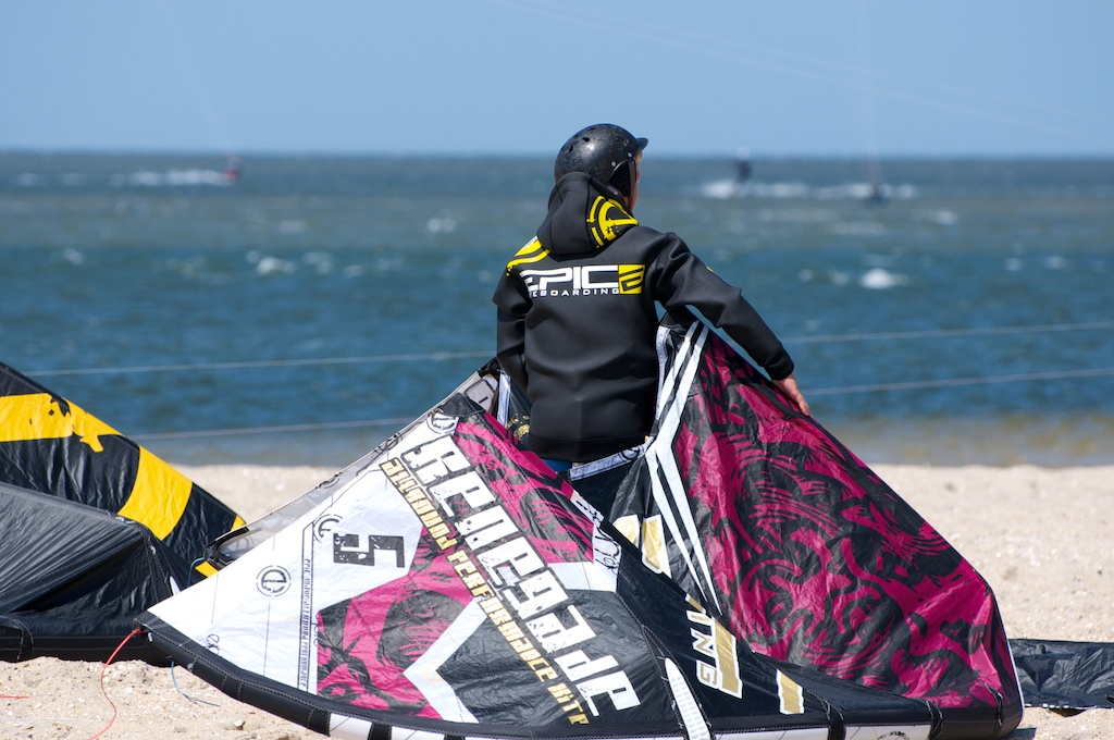 Cameron getting ready on his Renegade 5.jpg