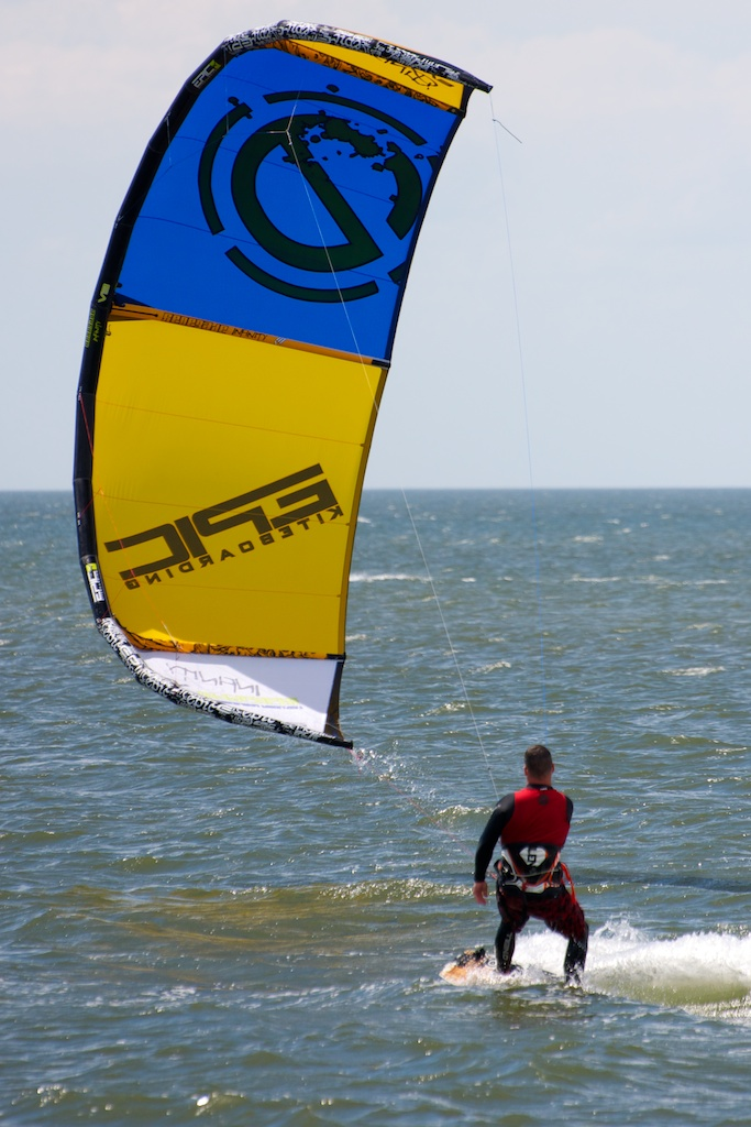 Testing the performance of the INFINITY in 12 to 18  knots over powered.jpg