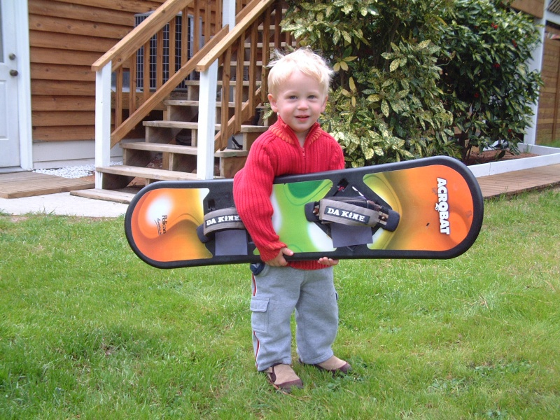 Cameron with NEw Kte board.jpg