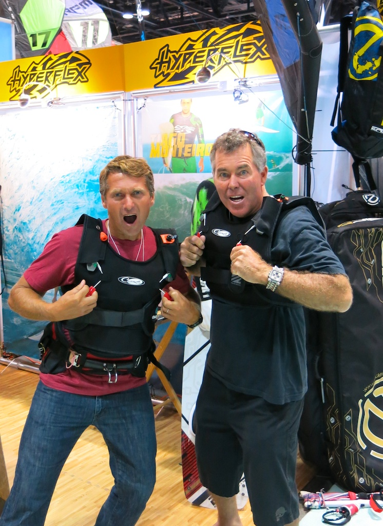 Dimitri and Jeff Clark testing the new Life Jacket.jpg